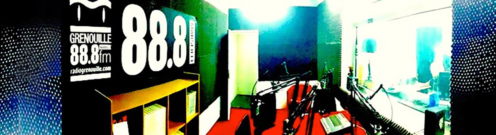Locaux radio grenouille 88.8